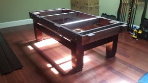 Pool and billiard table set ups and installations in Orlando Florida